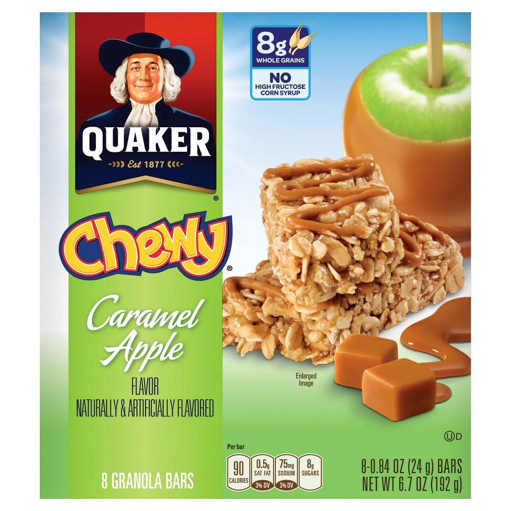 UPC 030000321034 - Quaker Chewy Granola Bars Caramel Apple ... Quaker Chewy Granola Bars Barcode