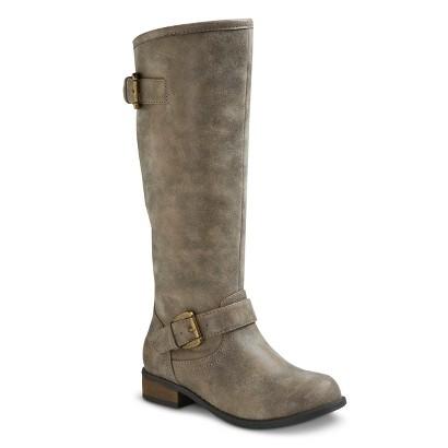 Girl's Cherokee® Feebie Contrast Zip Riding Boots - Assorted Colors