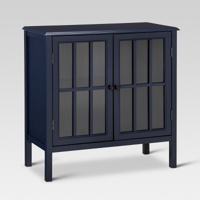 Windham Two-Door Storage Cabinet Navy - Threshold™