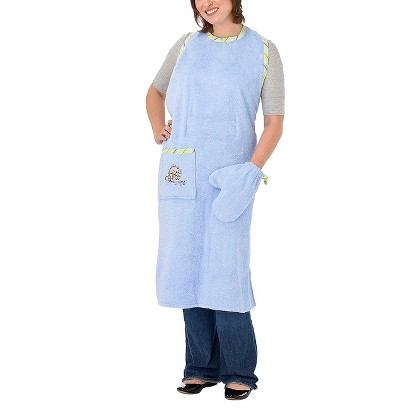 Neat Solutions Stay Dry Bath Apron & Wash Mitt