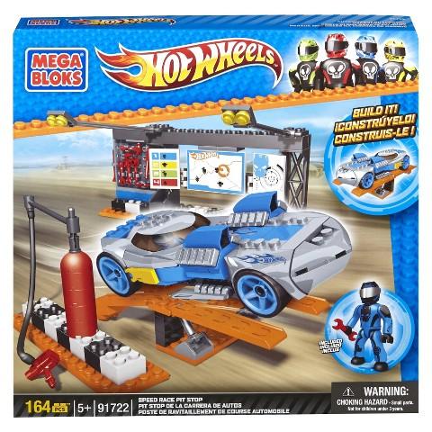Mega Bloks Hot Wheels Speed Race Pit Stop