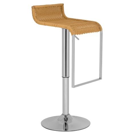 Safavieh Zandrea Adjustable Woven Barstool