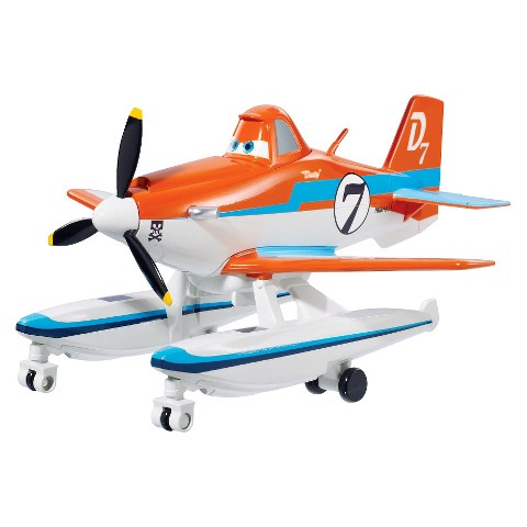 Disney Planes Fire Rescue Sound and Action Dusty With Pontoons Vehicle