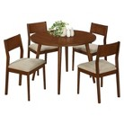 Monarch Specialties 5 Piece Modern Dining Set