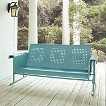 Crosley Veranda Metal Patio Sofa Glider