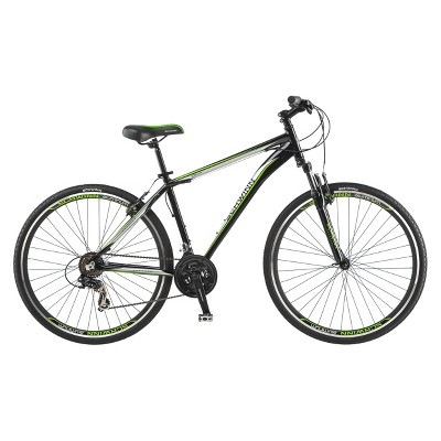 "Schwinn Mens OR2  28""/700c Hybrid Bike- Black/Green"