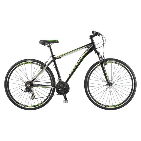 "Schwinn Mens OR2  28""/700c Hybrid Bike- Black/Green"