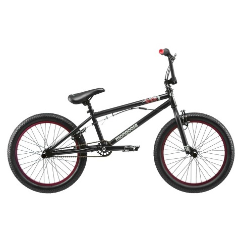 "Mongoose Boys Index 3.0  20"" Freestyle Bike - Black/Red"