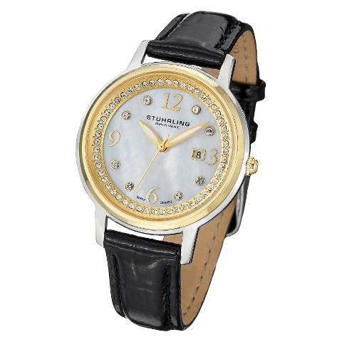 Stuhrling Original Women's Dancer Quartz Watch - Silver/Gold/Black