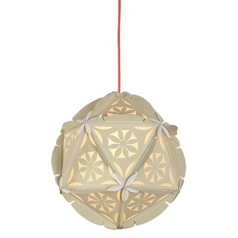 como plug in pendant ceiling lamp nude with cherry red cord product. Black Bedroom Furniture Sets. Home Design Ideas