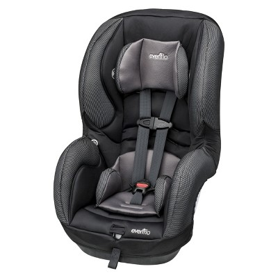 Evenflo SureRide DLX 65 Convertible Car Seat- Steel