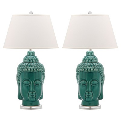 Safavieh Serenity Portofino Lamp (Set of 2) - Blue