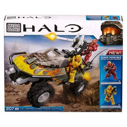 Mega Bloks Halo Flame Warthog