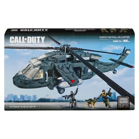 Mega Bloks® Call of Duty Ghosts Tactical Helicopter