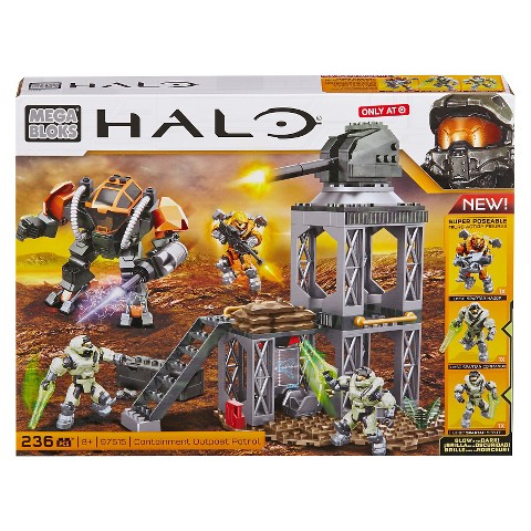 Mega Bloks Halo Containment Outpost Patrol