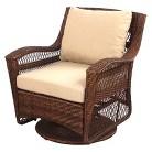 Wicker Patio Motion Club Chair