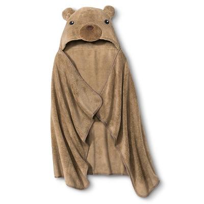 Circo® Newborn Bear Wrap Towel - Brown
