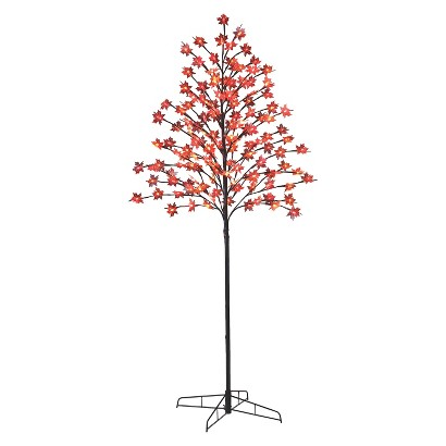 Image of Philips 5' Harvest LED Lit Tree