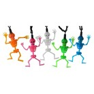 Halloween 10ct LED Multi-color Dancing Skeleton String Lights