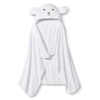 Circo® Newborn Lamb Wrap Towel - White