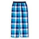 Boys' Plaid Sleep Pants