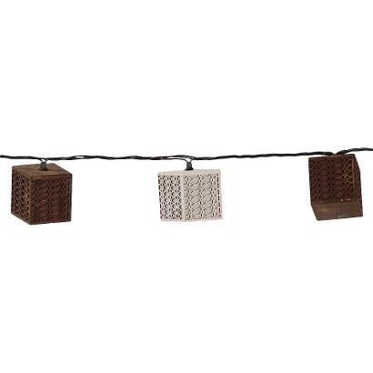 Cube Decorative Outdoor String Lights