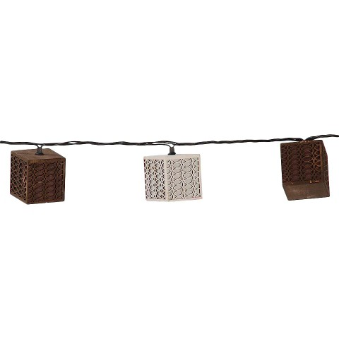 Cube Decorative Outdoor String Lights : Target