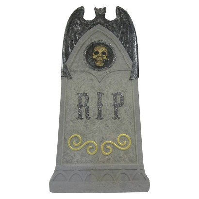 "Image of Halloween ""RIP"" Foam Tombstone - 36"""