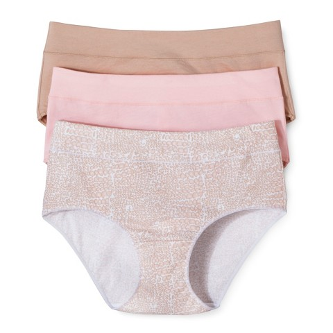 Hanes® Women's Classic Briefs CC38AS 3-Pack (Colors May Vary)