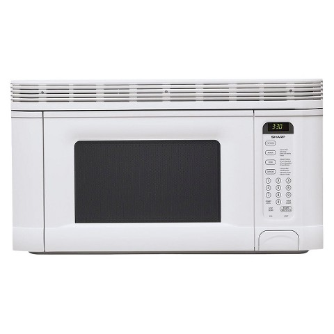 Sharp 1.4 Cu. Ft. 950W Over the Range Microwave Oven - White
