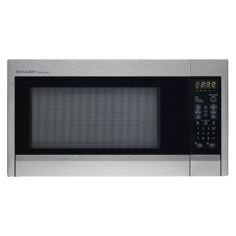 Sharp Carousel 1.3 Cu. Ft. 1000W Countertop Microwave Oven