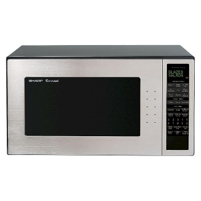 Sharp 2.0 Cu. Ft. 1200W Full-Size Microwave Oven - Stainless Steel