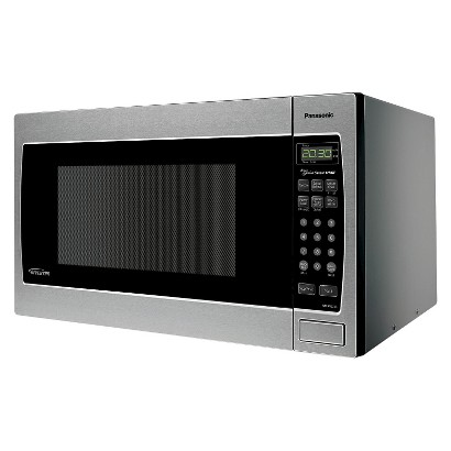 Countertop Microwave At Target : ... . 1250W Countertop/Built-In Inverter Microwave Oven - Stainless Steel