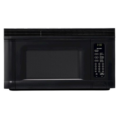 Sharp 1.4 Cu. Ft. 950W Over the Range Microwave Oven - Black