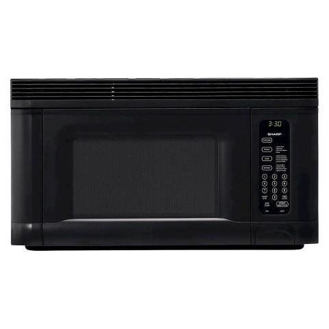 Sharp 1.4 Cu. Ft. 950W Over the Range Microwave Oven - Black