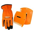 Lawn Claws and Men's Spandex Back Padded Palm Gloves