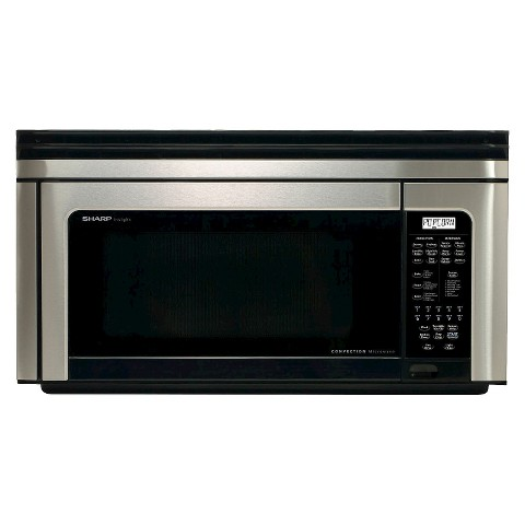 Sharp 1.1 Cu. Ft. 850W Over the Range Convection Microwave - Stainless Steel