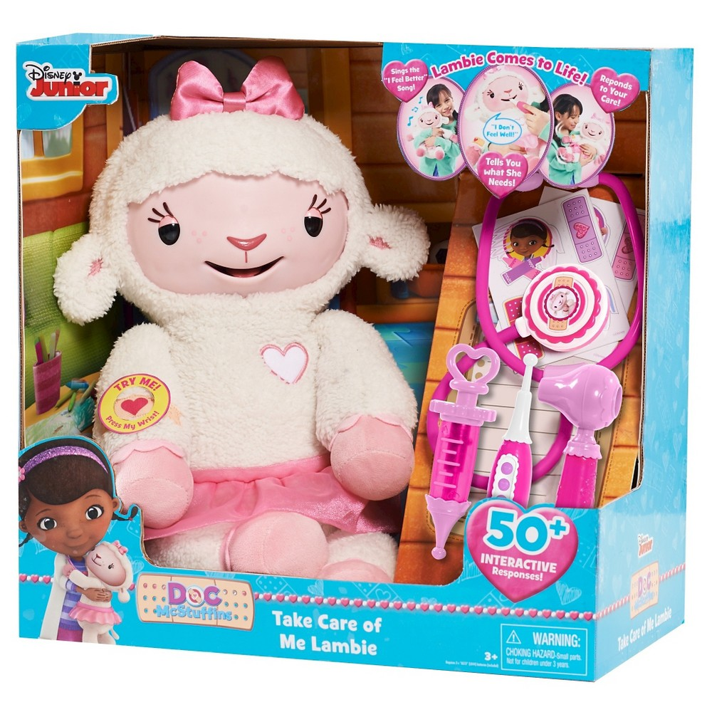 Take Care of Me Lambie, Interactive Dolls