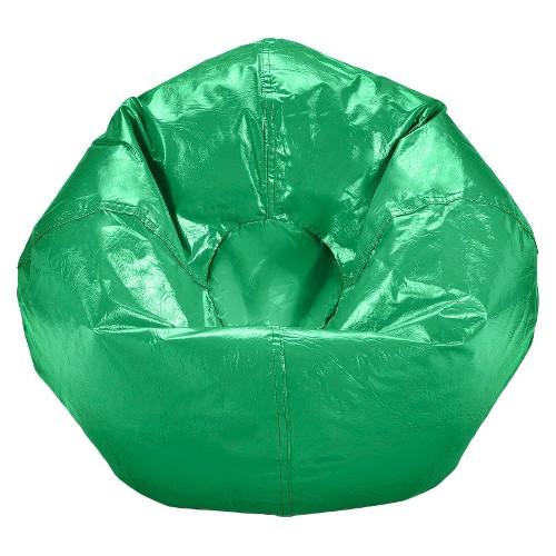 Small Vinyl Bean Bag Chair Ace Bayou Ebay