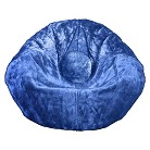 Ace Bayou Chenille Bean Bag Chair - Royal Blue