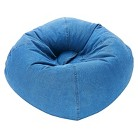 Ace Bayou Denim Bean Bag Chair - Blue
