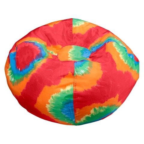 ACE BAYOU Tye Dye Bean Bag Chair - Red