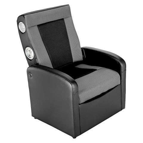 ACE BAYOU X-Rocker Gaming Chair - Black/Grey