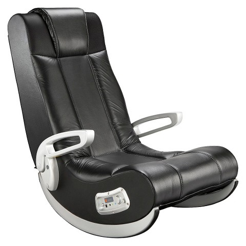 ace bayou x-rocker gaming chair - black