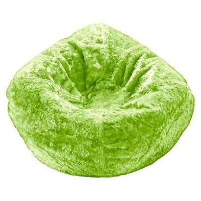 ACE BAYOU Chenille Bean Bag Chair - Lime