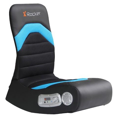 X-Rocker Gaming Chair - Black/Grey