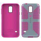 Speck CandyShell Cell Phone Case for Samsung Galaxy S5 - Grey/Pink (SPK-A2690)