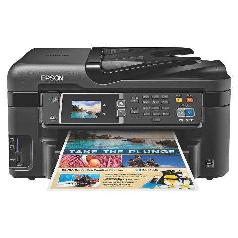 Epson PrecisionCore WF-3620 Printer - Black (C11CD19201)