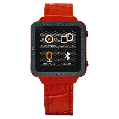 Android® SmartWatch™ GTS Digital Watch - Red