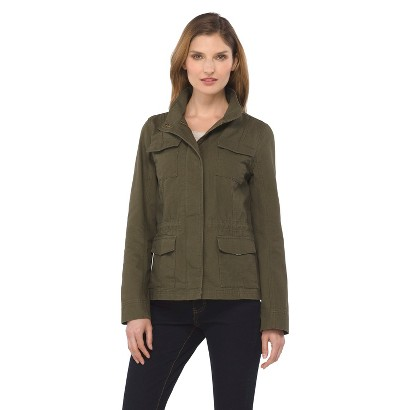 Women's Short Anorak Jacket Green